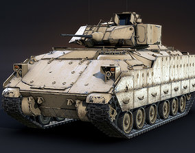 M2A2 Bradley LOD1 3D asset