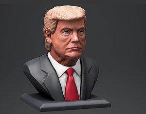 Donald Trump bust 3 3D print model sculpture