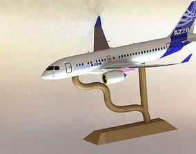 3D print model Airbus A220