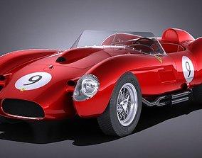 3D model Ferrari 250 Testa Rossa 1957 1958