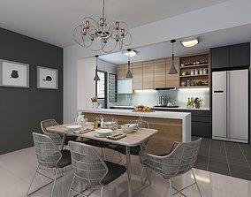 Kitchen 3D model interior