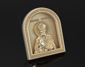Russian icon 3D printable model miniatures