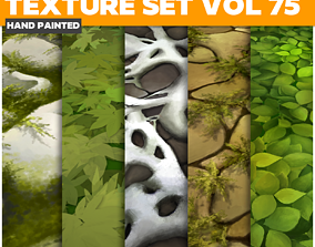 Grass Vol 75 - Game PBR Textures 3D model