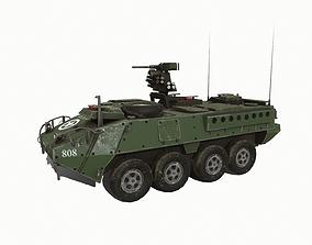 3D asset Stryker M1126 Infantry Carrier Vehicle