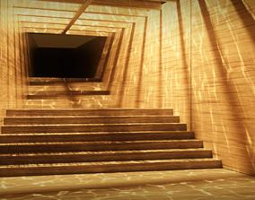 3D Caustic Corridor - Blade Runner 2049