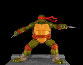 3D printable model Teenage Mutant Ninja Turtles vs batman