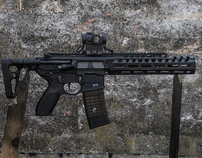 3D print model Handguard for the Airsoft Sig Sauer MCX 2