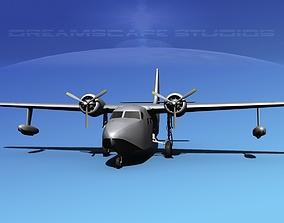 Grumman G-73 Mallard VBM 3D | CGTrader