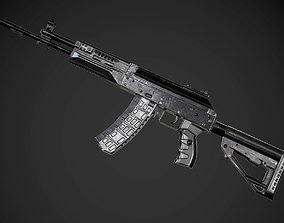 realtime FPS AK-12 AAA PBR Game Ready Weapon Asset
