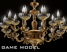 Classic Chandelier col105 gamemodel low-poly