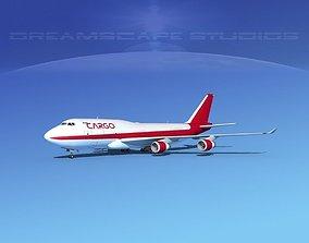 Boeing 747-400 Cargo 2 3D model