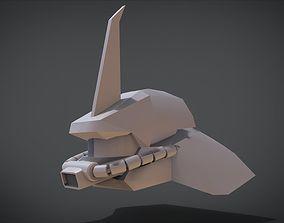 3D print model AMS-119 Geara Doga Head