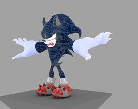 Sonic The Werehog 3D model