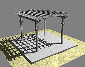 3D Pergola 2 Freestanding
