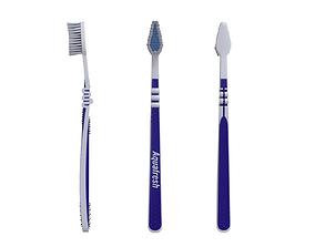 Toothbrush bathroom 3D