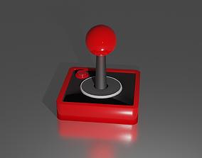 Joystick 3D asset rigged