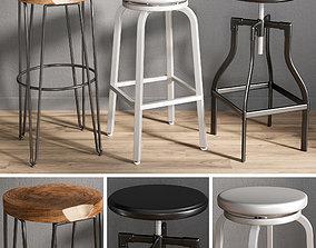 3D model Bar stools 1