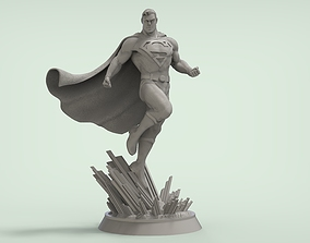 3D print model collectionable Superman - Alex Ross