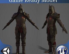 Chaos Knight 3D asset