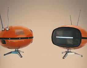 3D asset Retro TV