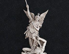 religion 3D print model Arhangel Michael