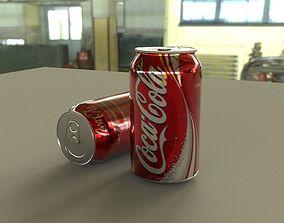 game-ready coca cola 3d