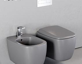 3D asset Ceramica Flaminia Mono Wall-Hung WC