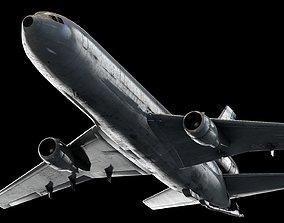 3D Douglas DC-10 - Aircraft - Cinema 4d-Fbx-Maya-Obj