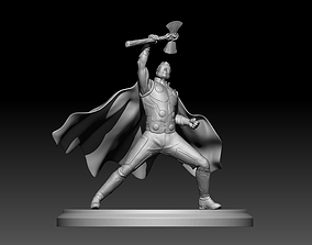 Thor model 3dfor print marvel