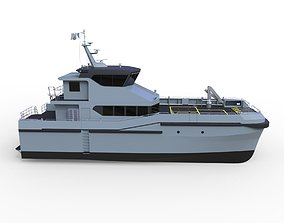 3D Complated Crew Vessel
