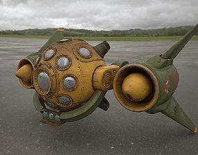 Scout space-ship RS-1 3D asset