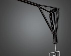 Basketball Backboard Gym - HSG - PBR Game Ready 3D asset