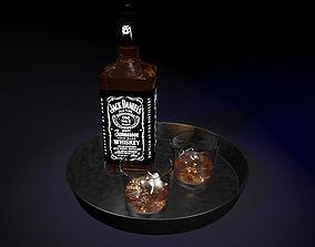 whisky 3D