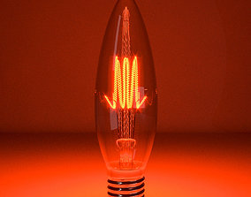 tungstenlamp 3D Tungsten lamp model-1