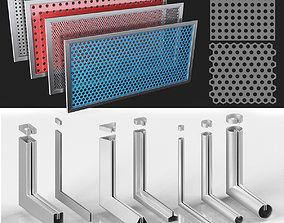panel 3D Perforation Rv Rg