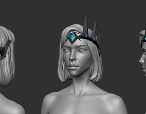 Atlantic Mercy diadem 3D printable model