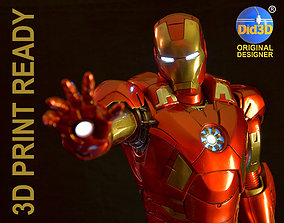 IRON MAN Mark 7 HQ 62cm 1-3Scale 3D Print