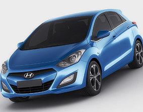Hyundai i30 EU 2012 3D model
