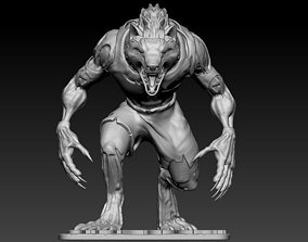 Sabrewulf from Killer Instinct 3D printable model