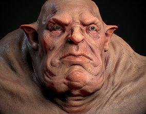 3D asset game-ready RPG - Ogre