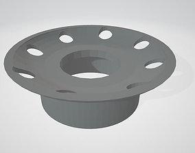 Lemezarugyar Moonrover Parts - Nozzle 3D print model