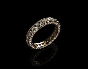 3D printable model Diamond Engagement Rings