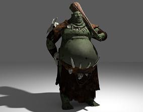 3D model Ogroid creature