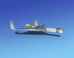 Harpy 1 UAV V05 3D model