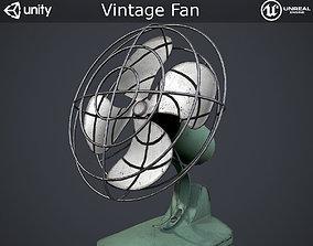3D model Vintage Fan