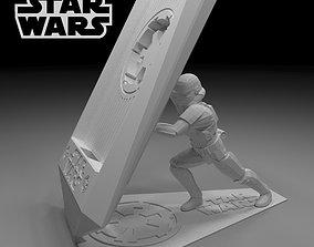 Star Wars phone holder Storm Trooper 3d model
