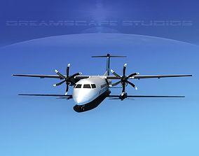 3D model Dehaviland DHC-8 400 Midlands Express
