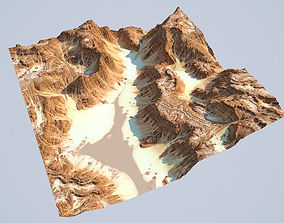 3D Detailed Canyon Model 2