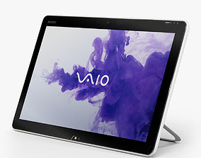 Sony VAIO TAP 20 all-in-one PC 3D asset