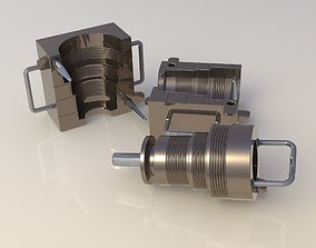 Mold tool ORings set 3D model